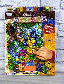 Блискуча мозаїка Glitter Mosaic Поні БМ-03-07 Danko-Toys Україна