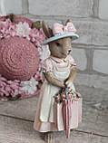 """Статуетка з кераміки """"Кролиця з Провансу"""" h 18,5 см, 270 грн, фото 3"""