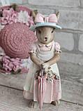 """Статуетка з кераміки """"Кролиця з Провансу"""" h 18,5 см, 270 грн, фото 2"""