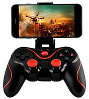 Беспроводной геймпад джойстик TERIOS NEW X3 Bluetooth для смартфона Android 4.0+ , ТВ, TV BOX Черный (0001011)