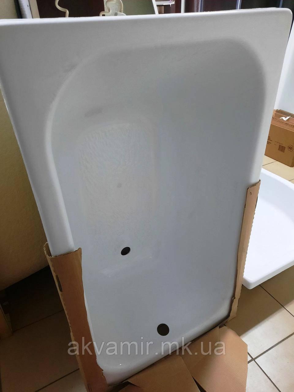 Ванна Тритон Стандарт 120х70см акрилова з ніжками
