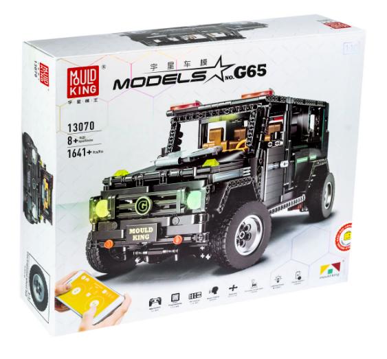 Радіокерований гоночний конструктор Мерседес-Бенц Гелендваген G500 AMG Mould King 13070