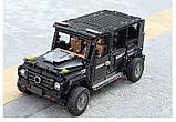 Радіокерований гоночний конструктор Мерседес-Бенц Гелендваген G500 AMG Mould King 13070, фото 5