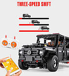 Радіокерований гоночний конструктор Мерседес-Бенц Гелендваген G500 AMG Mould King 13070, фото 6