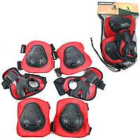 Защита для роликов детская Sport Melmet красно-черная (TB-00563)