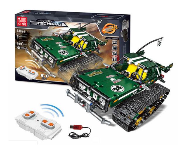 Радіокерований гоночний конструктор Монстр-Трак Mould King 13026