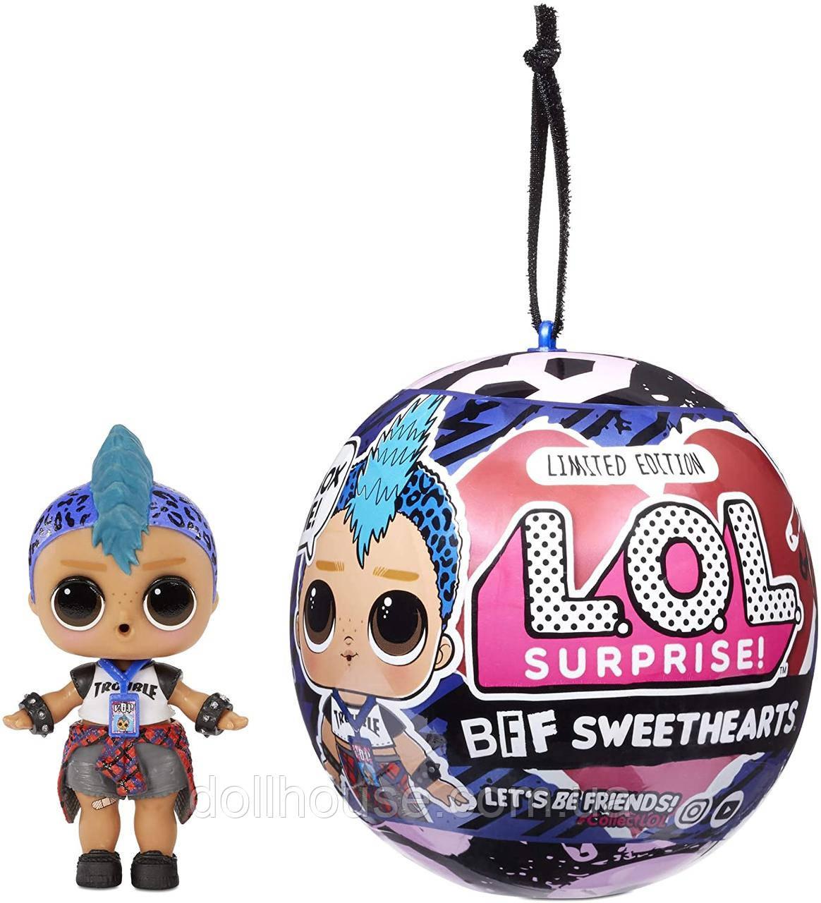LOL Surprise Лялька ЛОЛ Сюрприз серії Валентинки Панк Бій LOL Surprise BFF Sweethearts Punk Boi Doll 574446