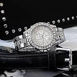 Жіночі годинники Bee Sister 1158 All Silver Diamonds, фото 2
