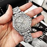 Жіночі годинники Bee Sister 1158 All Silver Diamonds, фото 3