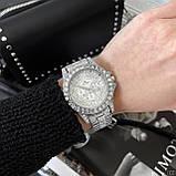 Жіночі годинники Bee Sister 1158 All Silver Diamonds, фото 4