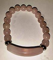 Браслет с розовым кварцем, фото 1