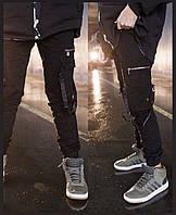 Модні штани-джогери для хлопців на ріст 134-164 см