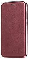 Чехол книжка для Meizu M5S марсала