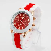 Жіночі наручні годинники білі Geneva