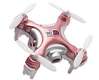 Квадрокоптер детский нано р/у Cheerson CX-10WD-TX с камерой Wi-Fi (розовый)