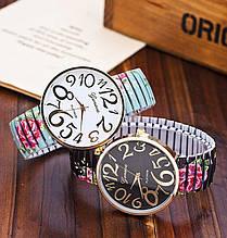 Жіночі годинники браслет з квітами