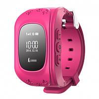 Детские смарт-часы с GPS трекером Baby Smart Watch GW300 (Q50) Pink (S-007300)