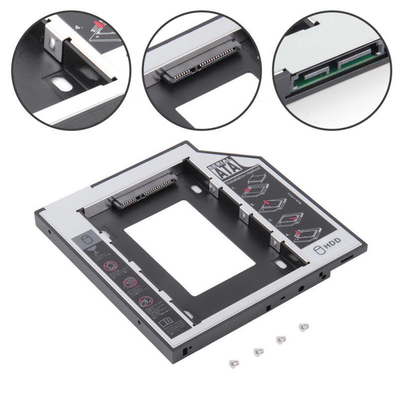 Кишеня для установки другого жорсткого диска SATA HDD в відсік DVD 9.5 мм SATA (optibay caddy) (5395)