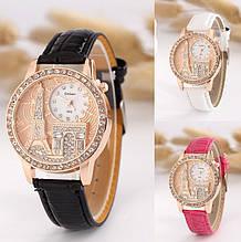 Жіночі наручні годинники з вежею