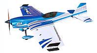 Самолет на радиоуправлении, радиоуправляемый Precision Aerobatics XR-61 1550мм KIT (синий), фото 1