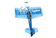 Самолет на радиоуправлении, радиоуправляемый Precision Aerobatics Addiction 1000мм KIT (синий)