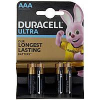 Батарейки Duracell індикатор заряду Ultra Power LR-03/блістер 4шт