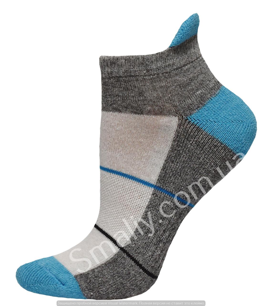 Жіночі зимові шкарпетки полуплюш укорочені