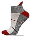Жіночі зимові шкарпетки полуплюш укорочені, фото 3