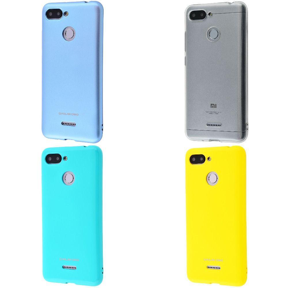 Накладка Molan Cano Glossy Jelly Case Xiaomi Redmi 6