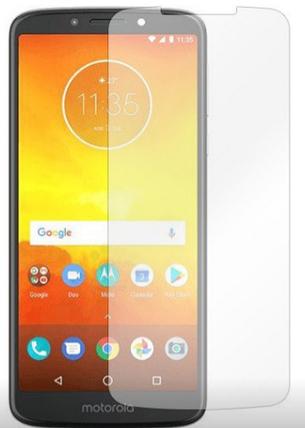 Гідрогелева захисна плівка на Motorola Moto E5 на весь екран прозора, фото 2