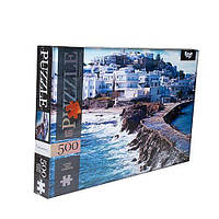 Пазлы Острова Наксос Греция 500 элементов DANKO TOYS C500-12-08
