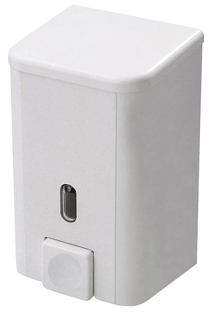 Дозатор для жидкого мыла 0,5 л белый