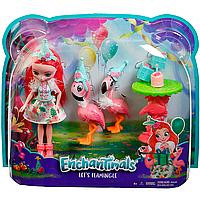 Игровой набор кукла Энчантималс Фламинго Enchantimals Let's Flamingle Dolls