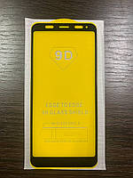Cтекло 9D Xiaomi Redmi 5 Plus черное защитное