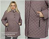 Куртка жіноча демісезонна великого розміру Україна Розміри: 50-52, 54-56, 58-60, 62-64, фото 5