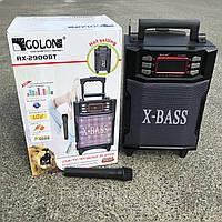 Портативная колонка комбик Golon RX-2900 BT c Bluetooth и микрофоном Black