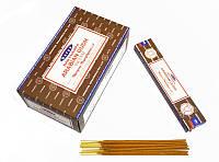 Благовония натуральные индийские аромапалочки Сатья Satya Arabian Oudh 15 грамм