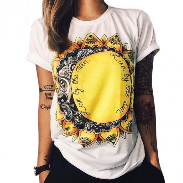 Женская футболка  CC-6119-15