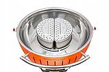 LotusGrill XХL Бездимний вугільний гриль на колесах, фото 7