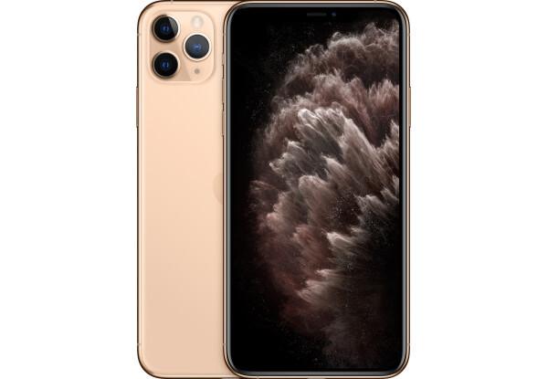Смартфон Apple iPhone 11 Pro Max 64 GB Gold A13 Bionic 3969 маг