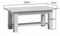 Журнальний столик TOMACO 110 x 65 x 57 cm, фото 3