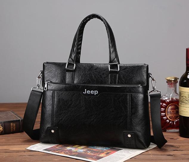 Чоловічий діловий портфель сумка Jeep