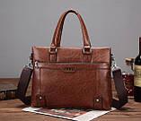 Мужской деловой портфель сумка Jeep, фото 3