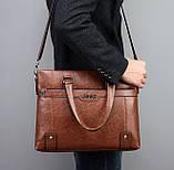 Чоловічий діловий портфель сумка Jeep, фото 4
