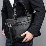 Чоловічий діловий портфель сумка Jeep, фото 6