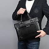 Чоловічий діловий портфель сумка Jeep, фото 7