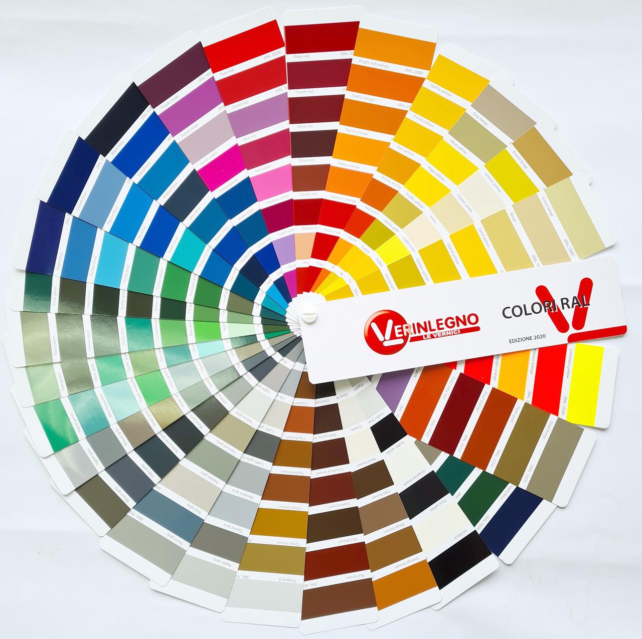 RAL-карта (каталог цветов) - цветовая гамма, палитра, стандарт для производителей лакокрасочной продукции