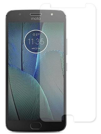 Гидрогелевая защитная пленка на Motorola Moto G5S Plus на весь экран прозрачная, фото 2