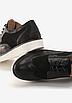 Туфлі жіночі чорні на шнурках Т067, фото 5