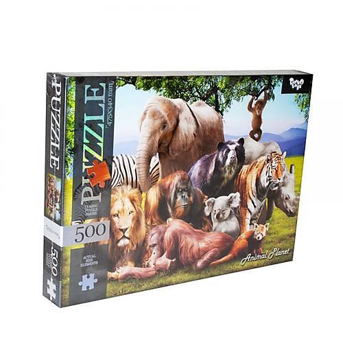 Пазлы Animal Planet Планета животных 500 элементов DANKO TOYS (C500-12-05)